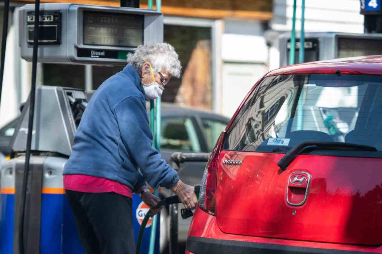 auto Diesel e benzina stop