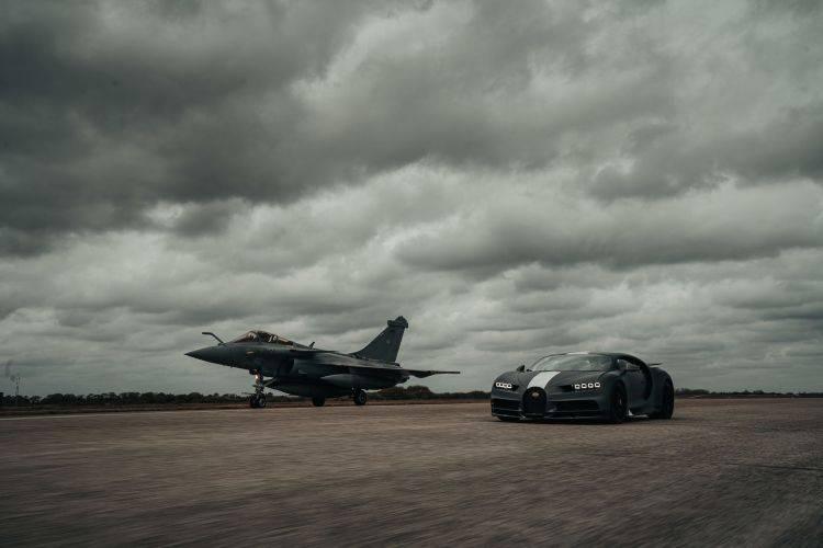 Bugatti Chiron Dassault Rafale