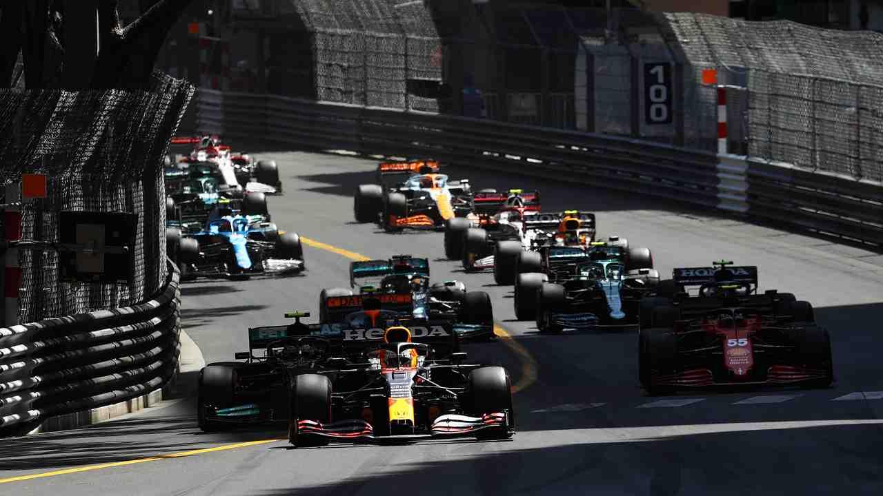 Monoposto di Formula 1