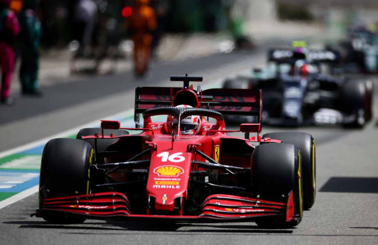 Charles Leclerc GP Spagna