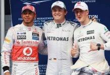 Rosberg Hamilton Schumacher