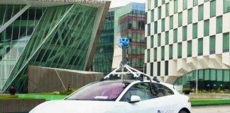 """Google misura l'aria a Dublino con l'elettrica Jaguar """"I-Pace"""""""