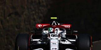 Antonio Giovinazzi F1 GP Baku