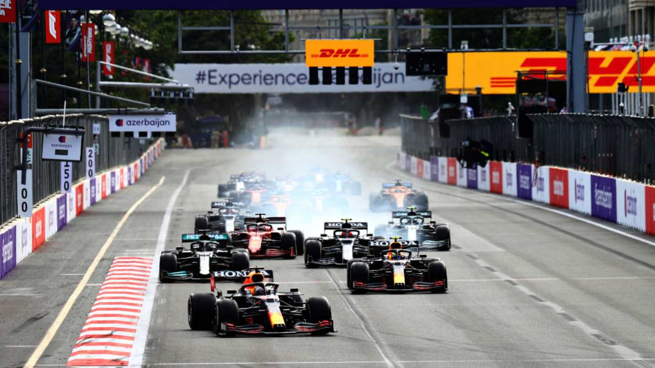 F1 GP Baku