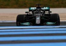 Lewis Hamilton Mercedes F1 GP Francia