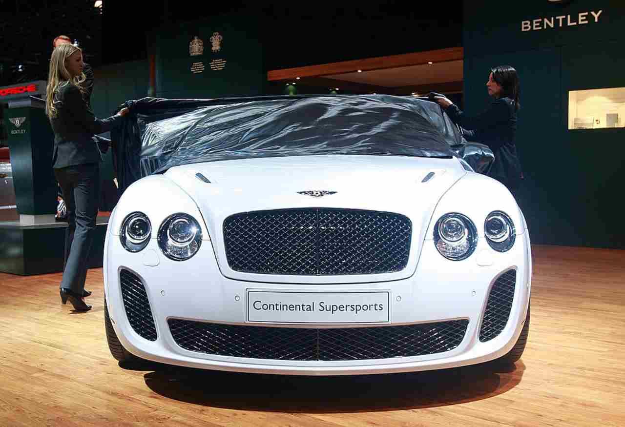 Harry Kane, perché ha scelto la Bentley Continental GT Superports