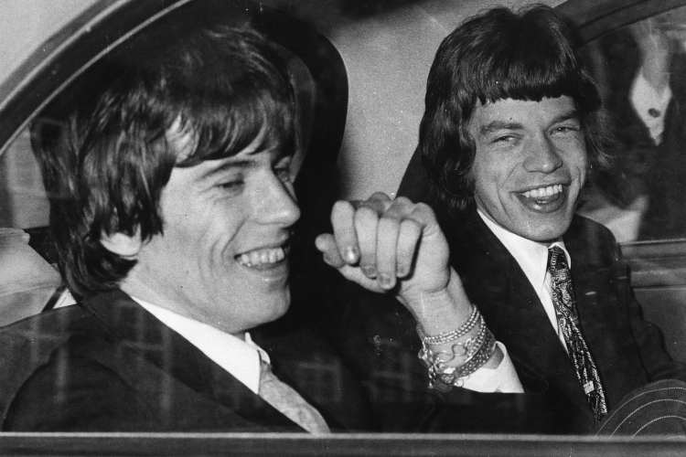 Keith Richard e Mick Jagger
