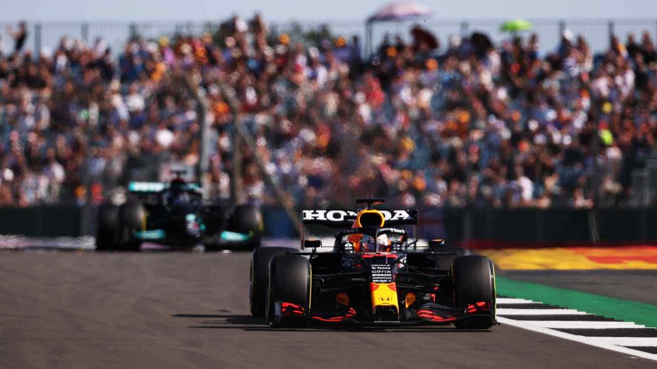F1 GP Silverstone Max Verstappen