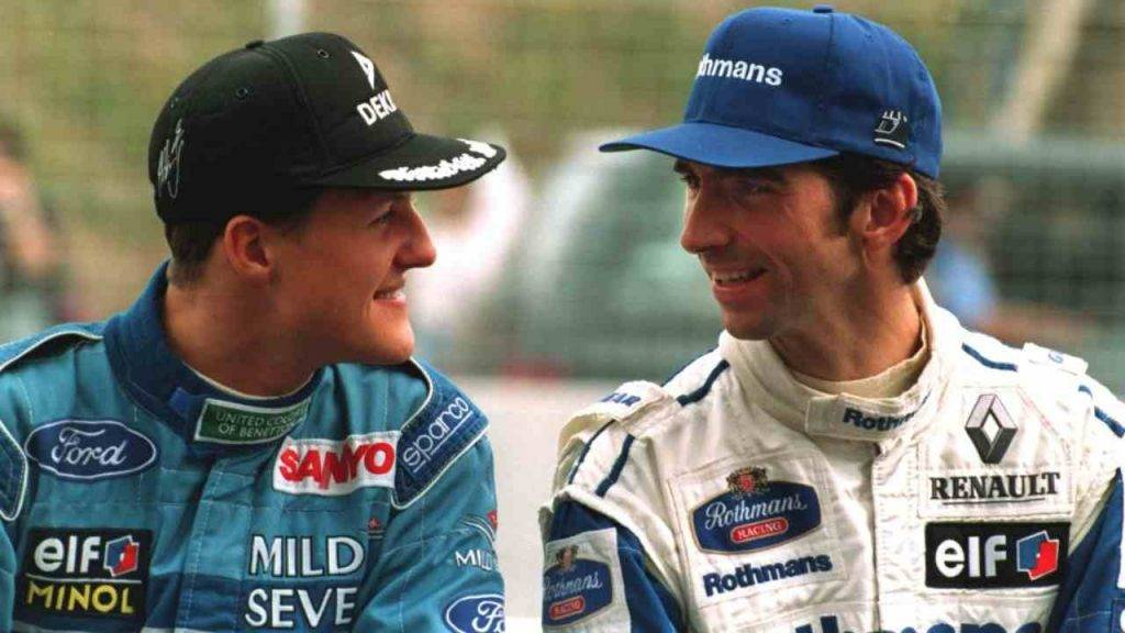 Schumacher Damon Hill