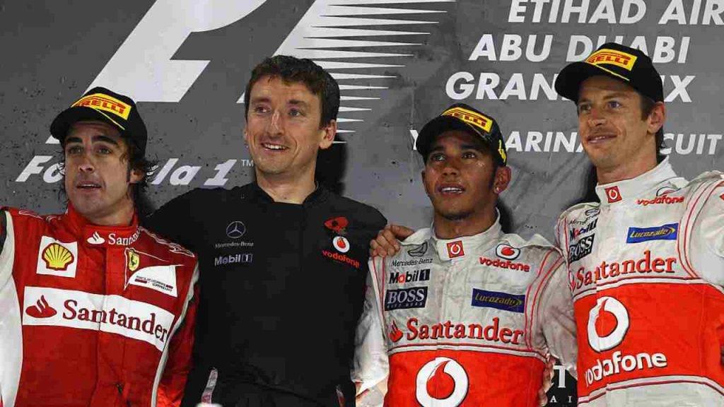 Hamilton Alonso Button