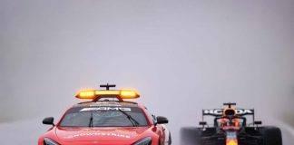 F1 GP Belgio sospeso: le gare interrotte e non riprese in Formula 1