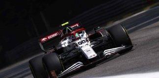 Antonio Giovinazzi Alfa Romeo F1