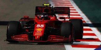 Carlos Sainz Ferrari F1 GP Russia