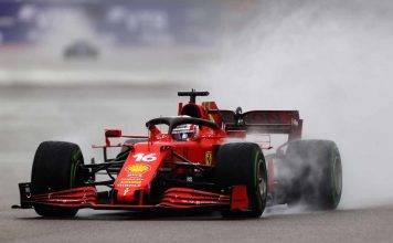Charles Leclerc Ferrari F1 GP Russia