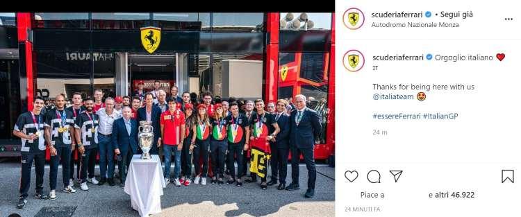 Ferrari F1 GP Monza