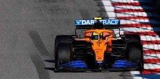 Lando Norris F1 GP Russia