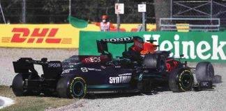 Lewis Hamilton Max Verstappen Incidente