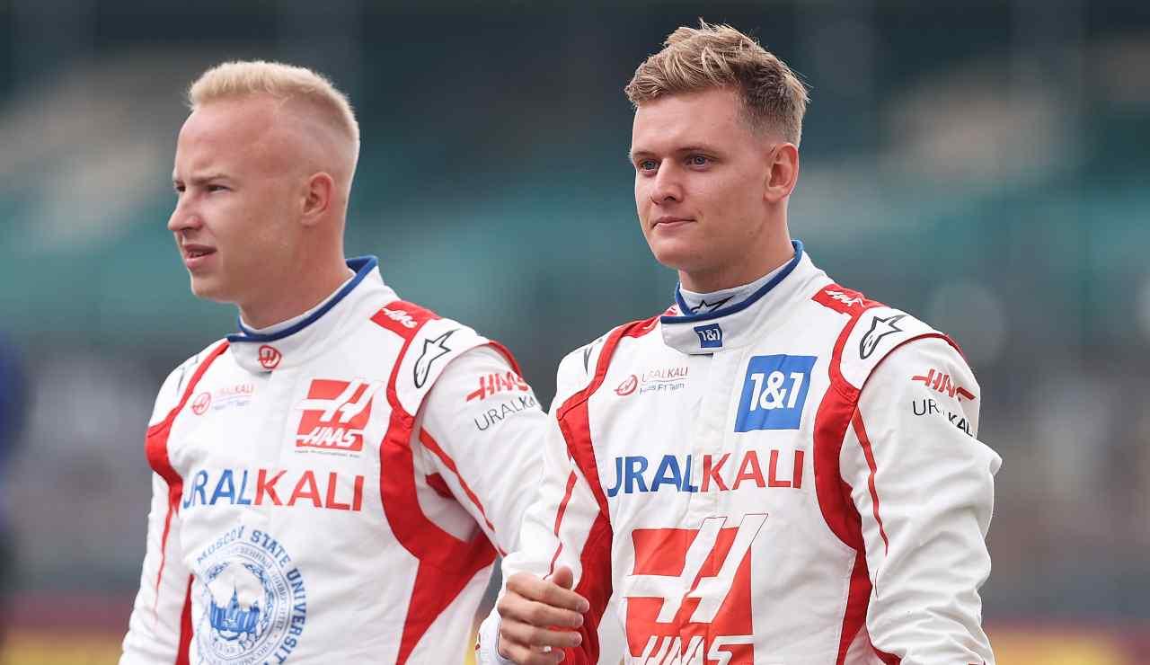Mazepin e Schumacher