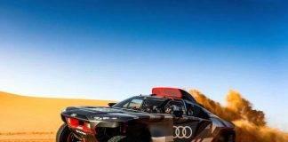 Audi Rs Q E-Tron, il prototipo supera i test per la Dakar 2022