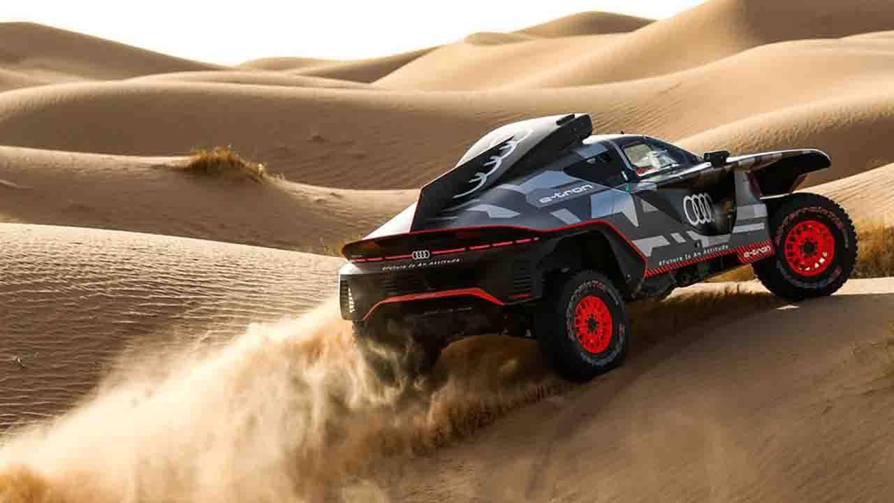 Dakar Audi
